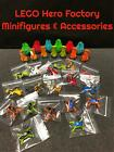 """AUTHENTIC LEGO HERO FACTORY MINIFIGURES JUMPERS PODS COCKPITS """"YOU PICK/CHOOSE"""" $3.49 USD on eBay"""