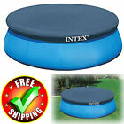 Round Pool Cover 8/10/12/15 Feet Swimming Above Ground Durable Protector