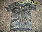 UNDER ARMOUR New NWT Boys Youth Shirt Camo Camouflage Mossy Oak MEDIUM LARGE XL