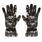 MagiDeal Lady Lace Short Full Bridal Accessory Gloves Party Prom Gloves