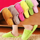 Women/Man Slippers Home Shoes Warm Plush Indoor Soft Floor Cartoon Household