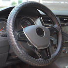 Dermay® Steering Wheel NEW Car Cover Faux Leather Braided Classic Car Covers Fit