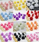 Внешний вид - 25Pcs Artificial Silk Rose Peony Flower Heads Bulk Craft Wedding Decor Various