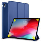 For iPad 9.7 Air 2 3 4 5th 6th Gen Smart Flip Leather Stand Silicone Case Cover