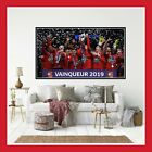 TOILE POSTER PHOTO IMAGE MAILLOT VICTOIRE STADE RENNES PSG COUPE DE FRANCE 2019