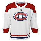 Youth Montreal Canadiens Outerstuff White Replica Away Jersey $54.99 USD on eBay