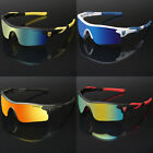Polarized Sport Men's Cycling Baseball Golf Ski Sunglasses Mirror Lens Glasses