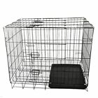 Puppy Pet Dog Cages Crate Foldable Carrier Transport Small Medium Large XLshape