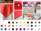 1/10 pack 60x60 in. Square Satin Overlay Seamless Wedding Party Dinner Catering