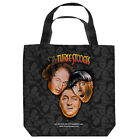 THREE STOOGES STOOGES ALL OVER LIGHTWEIGHT TOTE BAG 2 SIDED PRINT