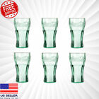 """Genuine Coca-Cola Green Glass Small Party Cup Vintage Coke NEW 6.25 OZ 4.5"""" Lot $9.69  on eBay"""