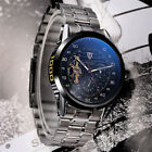 TEVISE Luxury Men's Stainless Steel Automatic Mechanical Military Wrist Watch image