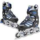 Youth Kids Roller Blades Inline Skates Light Up Size Roller Sporting Tracer NEW