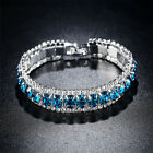 Kyпить Silver Toned Stylish Crystal Zircon Rhinestone Bracelet Women Bangle Jewelry WE на еВаy.соm