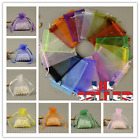 10-100pcs Organza Gift Bags Wedding Party Favour Xmas Jewellery Candy Pouches