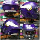 Minnesota Vikings Matte Custom Painted Airbrushed Motorcycle Helmet $749.0 USD on eBay