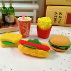 3Pcs/Set Chic Food Sandwich Hamburger Shaped Rubber Eraser For Kids Stationery $1.0  on eBay