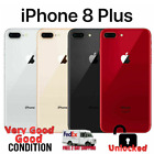 Apple iPhone 8 Plus 64GB 256GB A1897, Factory Unlocked - All Colors Excellent