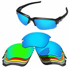 PapaViva POLARIZED ETCHED Replacement Lenses For-Oakley Flak Draft Sunglass