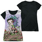 BETTY BOOP FAIRY Licensed Women's Junior Graphic Tee Shirt SM-2XL $25.95 USD on eBay
