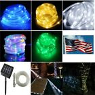 Solar Twinkly rope Led string Lights Strips for Room Home over pool hang outdoor