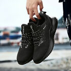 Plus Size Men's Sneakers Breathable Running Shoes Lace Up Casual Tennis Shoes US