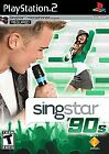 SingStar '90s (Sony PlayStation 2, 2008) game only