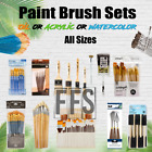 Art Paint Brushes Sets Oil Acrylic Watercolor Canvas Painting brush Packs lot for sale  USA