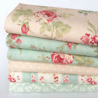 MODA Poetry pink & green 6 piece fabric bundles 100% cotton for sewing & craft