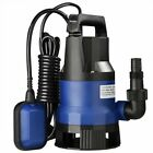 400 / 1000W Optional Submersible Dirty Clean Water Pump Pond Swimming Pool Flood