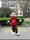 Monkey Mascot Costume Suit Cosplay Party Game Dress Unisex Advertising Halloween