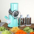 Multi-function Drum Rotary Grater Manual Coleslaw Cheese Vegetable Slicer Cutter