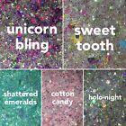 Sparkly Craft Glitter Mixes / Resin, Slime, Clay / 10-20g Bag / 5 Types