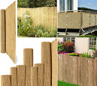 Garden Privacy Screen Thick Bamboo Reed Fence Natural Handmade Slat Panel Fence