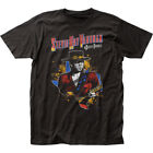 Stevie Ray Vaughan 1984 Tour Classic Fitted T-Shirt image