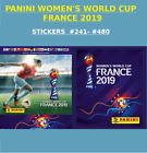 BUY 5 TAKE 11 - PANINI WOMENS WORLD CUP FRANCE 2019 STICKERS #201 - #480