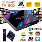 H96 Max 4GB+64GB TV Box Android 9 4K 5G/WIFI BT4.0 Home Media Streamer Player US