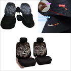 Seat Cover 2x Animal Print Car Seat Cover Front Seat Protection Pad Durable $26.98 USD on eBay
