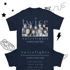 TWICE Concert Shirt TWICELIGHTS Tour T-shirt TWICE World Tour Concert Shirt ONCE image