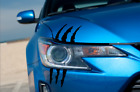Scion tc Decal Headlight Scratch Claw Decal 2014+ Scion tc stickers custom $12.99 USD on eBay