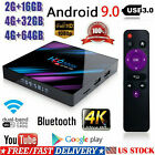 H96 Max 4G+64GB TV Box Android 9 2.4/5G WIFI BT4.0 Home Media Streamer US Player