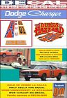 DECAL DODGE CHARGER 1969 GENERAL LEE THE DUKES OF HAZZARD (08)