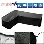 Waterproof Garden Rattan Corner Furniture Cover Outdoor Sofa Protect L Shape New