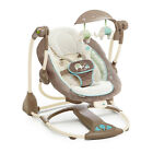 Baby Swings For Girls Boys Portable Infant Music Vibration Converts To Seat New