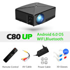 MINI Projector C80,1280x720 Resolution, Android WIFI Portable Game Movie Cinema