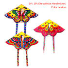 1 Set 90*50CM outdoor sports butterfly flying kite children toy with handle'line