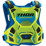 Thor Youth Fluorescent Green/Blue Guardian MX Roost Guard ( Kids 2XS/X-Small )
