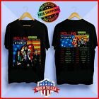Rolling Stones No Filter US Tour 2019 Update New Dates T-Shirt Black Tee S-6XL image