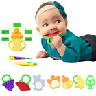 Lovely Soft Silicone Fruit Teether Teething Toys Infants Baby Toddlers Holder