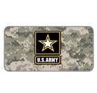 Custom Personalized Novelty License Plate With Camouflage United States Army
